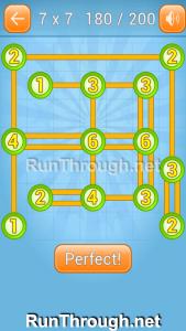 Linky Dots Walkthrough 7x7 Level 180