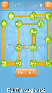 Linky Dots Walkthrough 7x7 Level 181