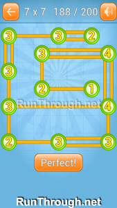 Linky Dots Walkthrough 7x7 Level 188