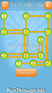 Linky Dots Walkthrough 7x7 Level 192