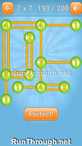 Linky Dots Walkthrough 7x7 Level 193