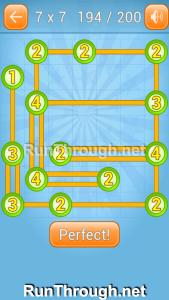 Linky Dots Walkthrough 7x7 Level 194