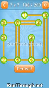 Linky Dots Walkthrough 7x7 Level 198