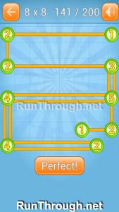 Linky Dots Walkthrough 8x8 Level 141