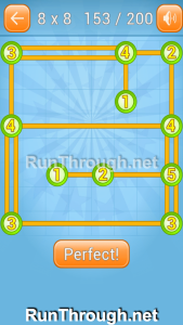 Linky Dots Walkthrough 8x8 Level 153