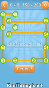 Linky Dots Walkthrough 8x8 Level 156