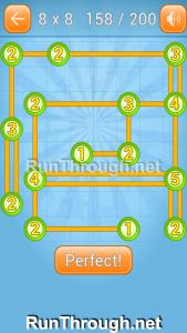 Linky Dots Walkthrough 8x8 Level 158