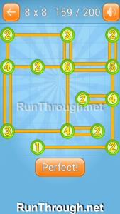 Linky Dots Walkthrough 8x8 Level 159