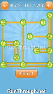 Linky Dots Walkthrough 8x8 Level 161