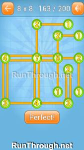 Linky Dots Walkthrough 8x8 Level 163