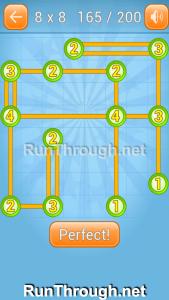 Linky Dots Walkthrough 8x8 Level 165
