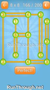 Linky Dots Walkthrough 8x8 Level 166