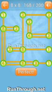 Linky Dots Walkthrough 8x8 Level 168