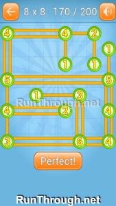 Linky Dots Walkthrough 8x8 Level 170