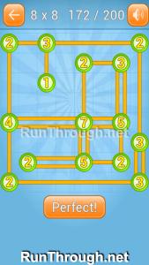 Linky Dots Walkthrough 8x8 Level 172