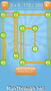 Linky Dots Walkthrough 8x8 Level 175