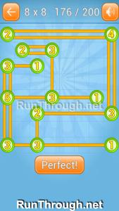 Linky Dots Walkthrough 8x8 Level 176