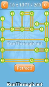 Linky Dots 10x10 Walkthrough level 177