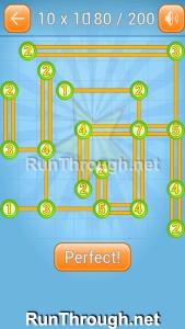 Linky Dots 10x10 Walkthrough level 180