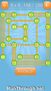 Linky Dots 9x9 Walkthrough Level 168