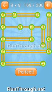 Linky Dots 9x9 Walkthrough Level 169