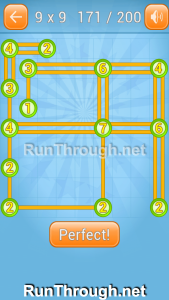 Linky Dots 9x9 Walkthrough Level 171