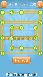 Linky Dots 9x9 Walkthrough Level 174