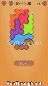 Ocus Puzzle Walkthrough Easy Level 159