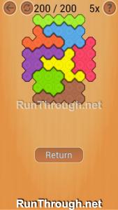 Ocus Puzzle Walkthrough Normal Level 200