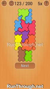 Ocus Puzzle Walkthrough Hard Level 123