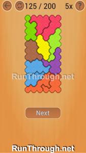 Ocus Puzzle Walkthrough Hard Level 125