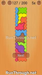 Ocus Puzzle Walkthrough Hard Level 127