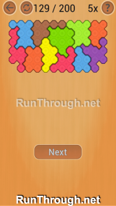 Ocus Puzzle Walkthrough Hard Level 129