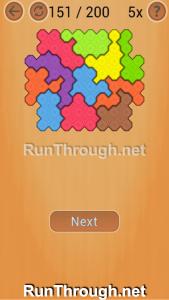 Ocus Puzzle Walkthrough Hard Level 151