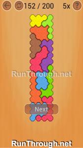 Ocus Puzzle Walkthrough Hard Level 152