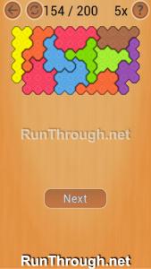 Ocus Puzzle Walkthrough Hard Level 154