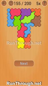 Ocus Puzzle Walkthrough Hard Level 155