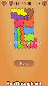 Ocus Puzzle Walkthrough Hard Level 166