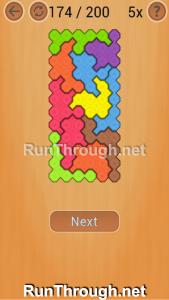 Ocus Puzzle Walkthrough Hard Level 174