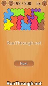 Ocus Puzzle Walkthrough Hard Level 192