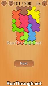 Ocus Puzzle Walkthrough Medium Level 101