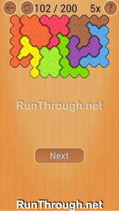 Ocus Puzzle Walkthrough Medium Level 102