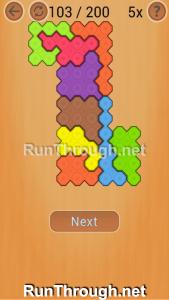 Ocus Puzzle Walkthrough Medium Level 103