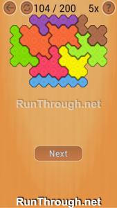 Ocus Puzzle Walkthrough Medium Level 104