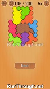 Ocus Puzzle Walkthrough Medium Level 105