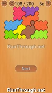 Ocus Puzzle Walkthrough Medium Level 108