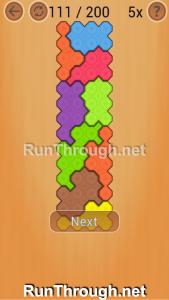 Ocus Puzzle Walkthrough Medium Level 111
