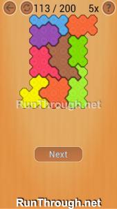 Ocus Puzzle Walkthrough Medium Level 113