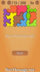 Ocus Puzzle Walkthrough Medium Level 115