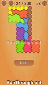 Ocus Puzzle Walkthrough Medium Level 124